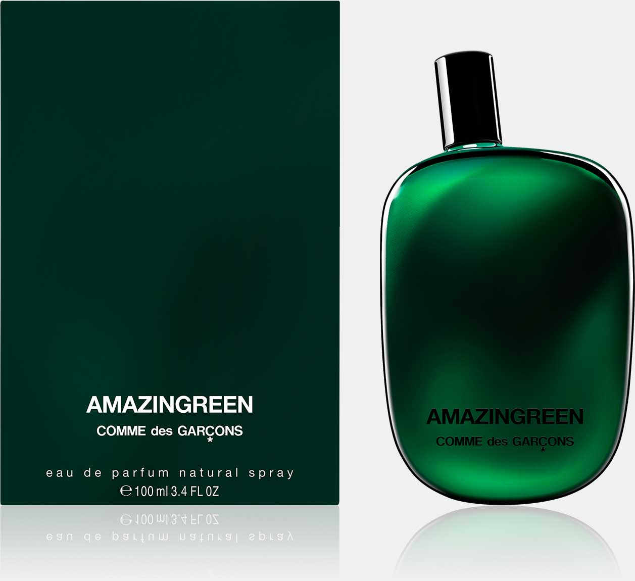 Amazingreen - Eau de Parfum (50 ml / 100 ml natural spray)