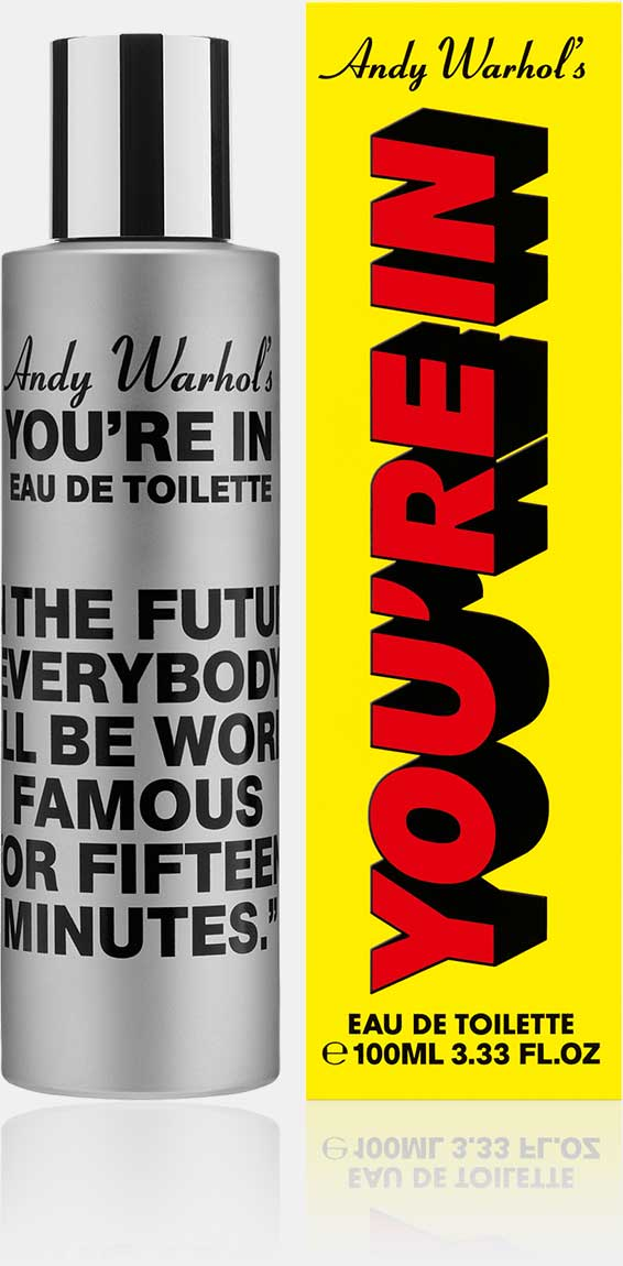 Andy Warhol's You're In - Eau de Toilette (100ml)