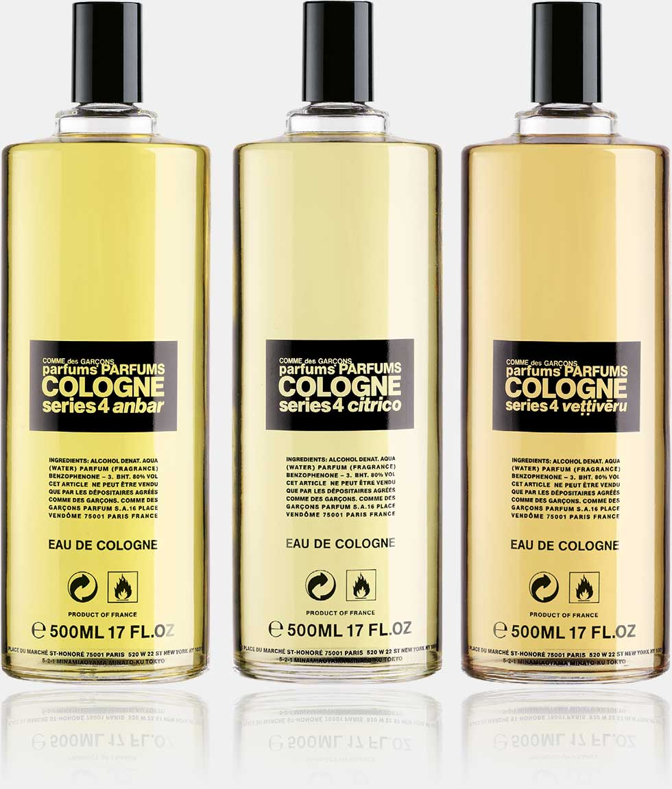 Cologne series 4 - Eau de Cologne (125 ml spray)