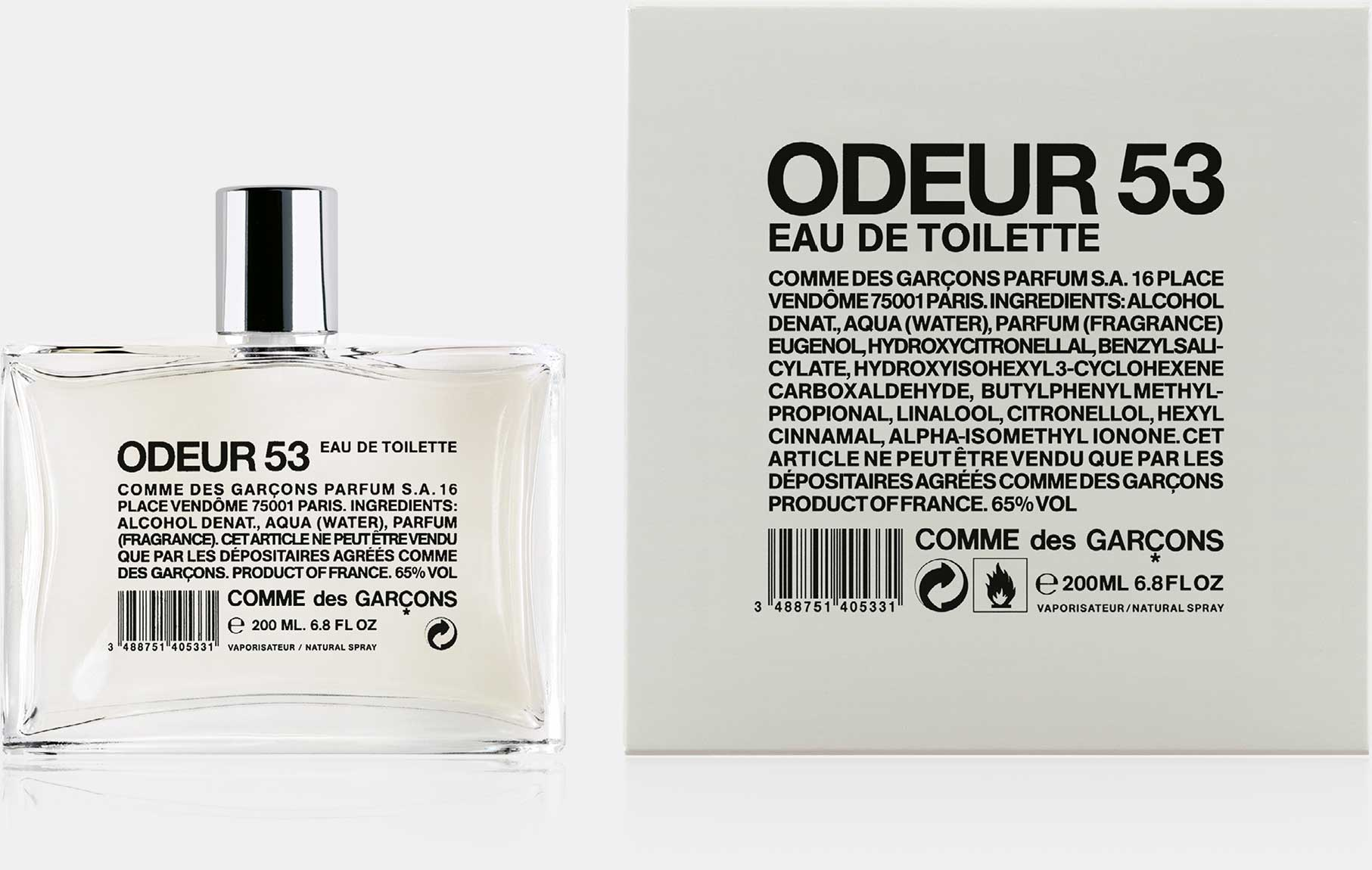 Odeur 53 - Eau de Toilette (200 ml natural spray)